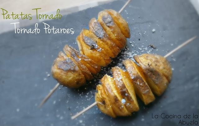 Patatas Tornado, Tornado Potato.