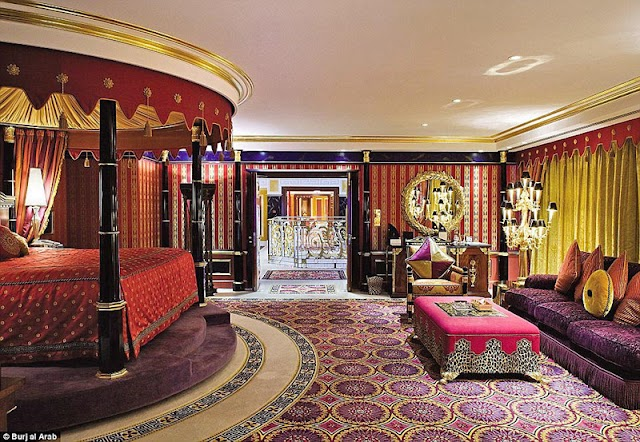 Inside the world's most luxurious hotel in Dubai