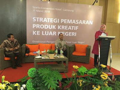 Sambangi Lampung, Bekraf Gelar Kegiatan Bimbingan Teknis