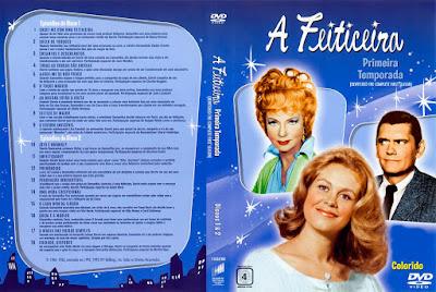 Série A Feiticeira 1º Temporada DVD Capa