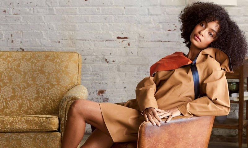 Yara Shahidi Featured In Elle Magazine - Singapore March 2020