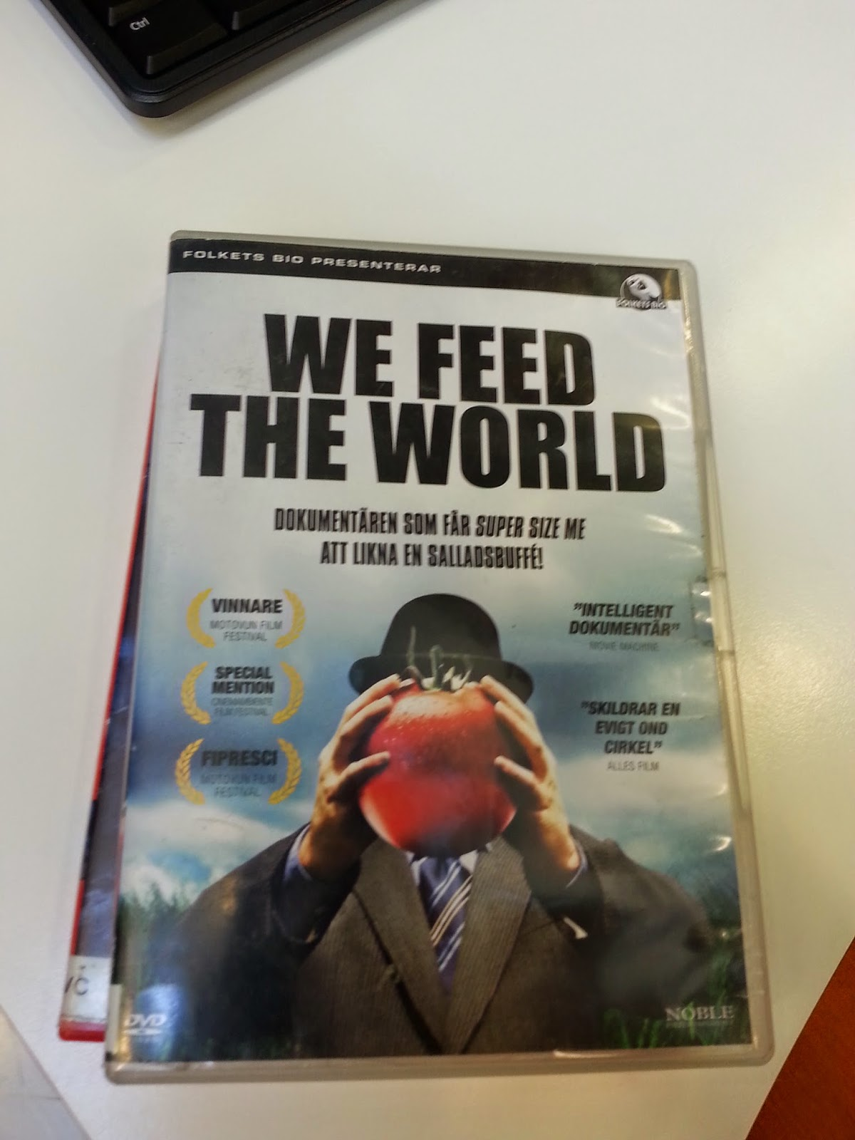 We Feed The World på Lunds stadbibliotek - Rörelse för djurrätt