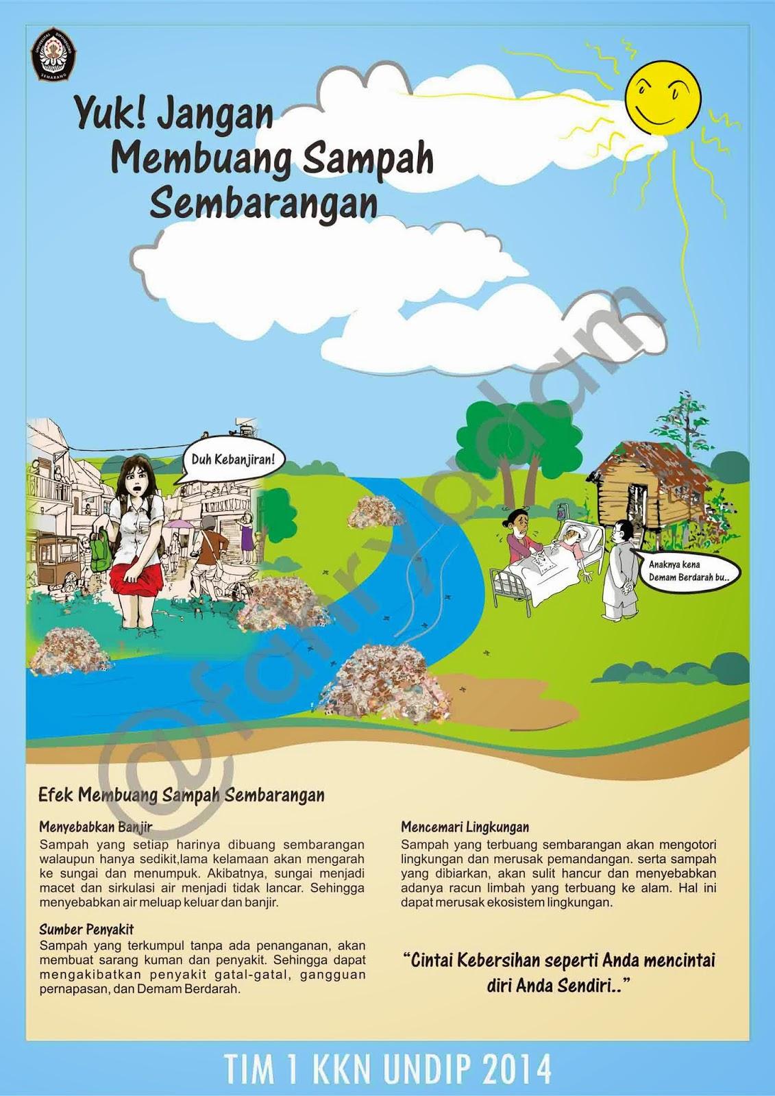 Hidup Sehat Poster Kesehatan Lingkungan Sekolah