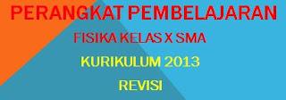 RPP Fisika SMA Kelas X Kurikulum 2013 Revisi
