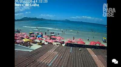câmera ao vivo da praia da barra da lagoa florianopolis