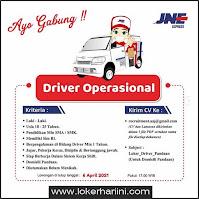 Lowongan Driver Operasional PT Tiki Jalur Nugraha Ekakurir (JNE) Pasuruan