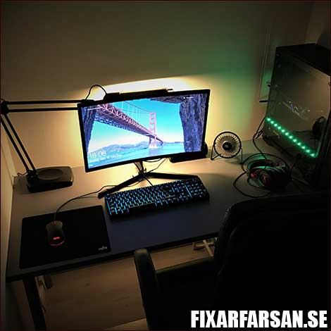 Gaming Skrivbord Gaming-PC Mekaniskt Tangentbord