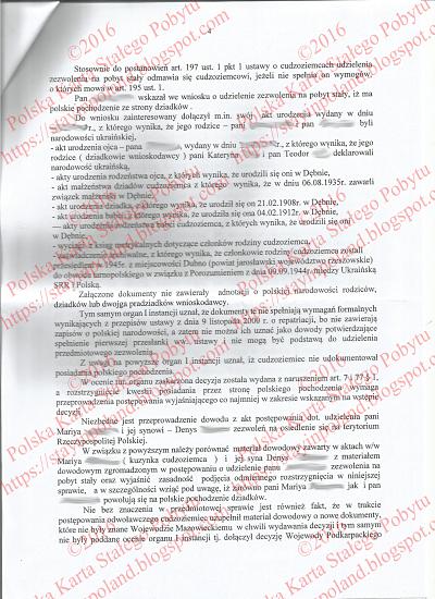 Karta Pobytu, Odwołanie, Decyzja, Przekierowanie Do I Instacji s.4