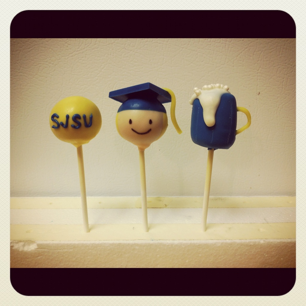 Graduation Cake Pops To Order