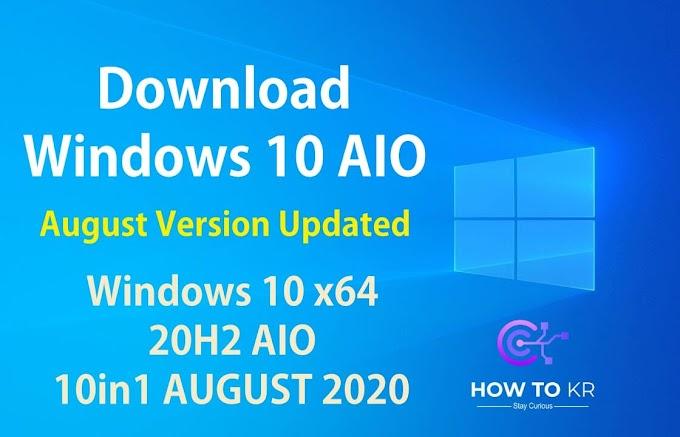 WINDOWS 10 AIO V2004 BUILD 19041.508 SEPTEMBER 2020