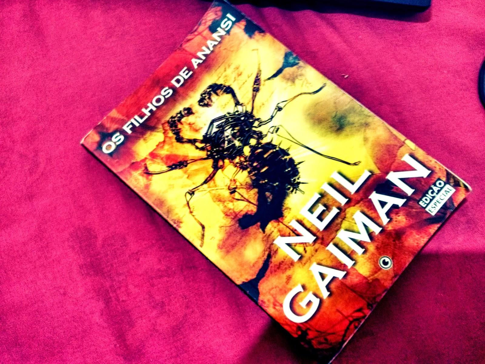 i%C3%A7lfdsk%C3%A7fsa - Os Filhos de Anansi - Neil Gaiman