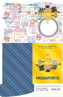 Tarjeta con forma de Pasaporte de Película de los Minions