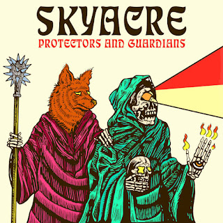 "Grunge fuzz SKYACRE new album ""Protectors And Guardians"""