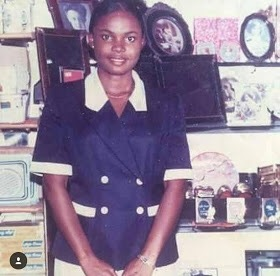 actress iyabo ojo shares throwback photo with interesting story behind it