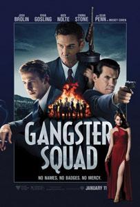 Poster original de Gangster Squad (Brigada de élite)