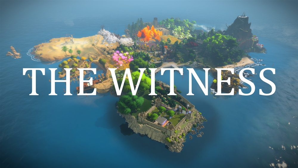 The Witness PC Game Download Poster