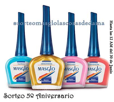 Sorteo 5º Aniversario del Blog - Masglo