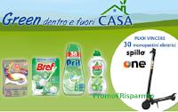 Con Bref, Pril, Nelsen e L'Acchiappacolore vinci 30 Monopattini The One da Acqua&Sapone