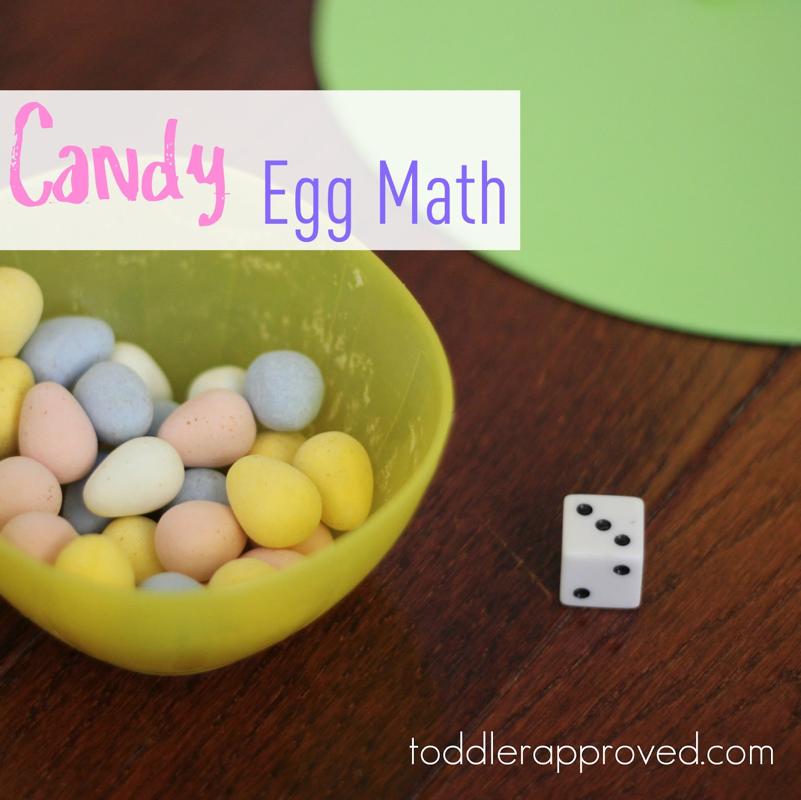 Toddler Approved Cool Candy Egg Math