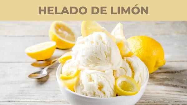 Cómo se hace la nieve de limón artesanal
