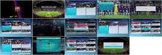 PES 17 F.C. Barcelona Graphic Menu by Đőđy Àbđő
