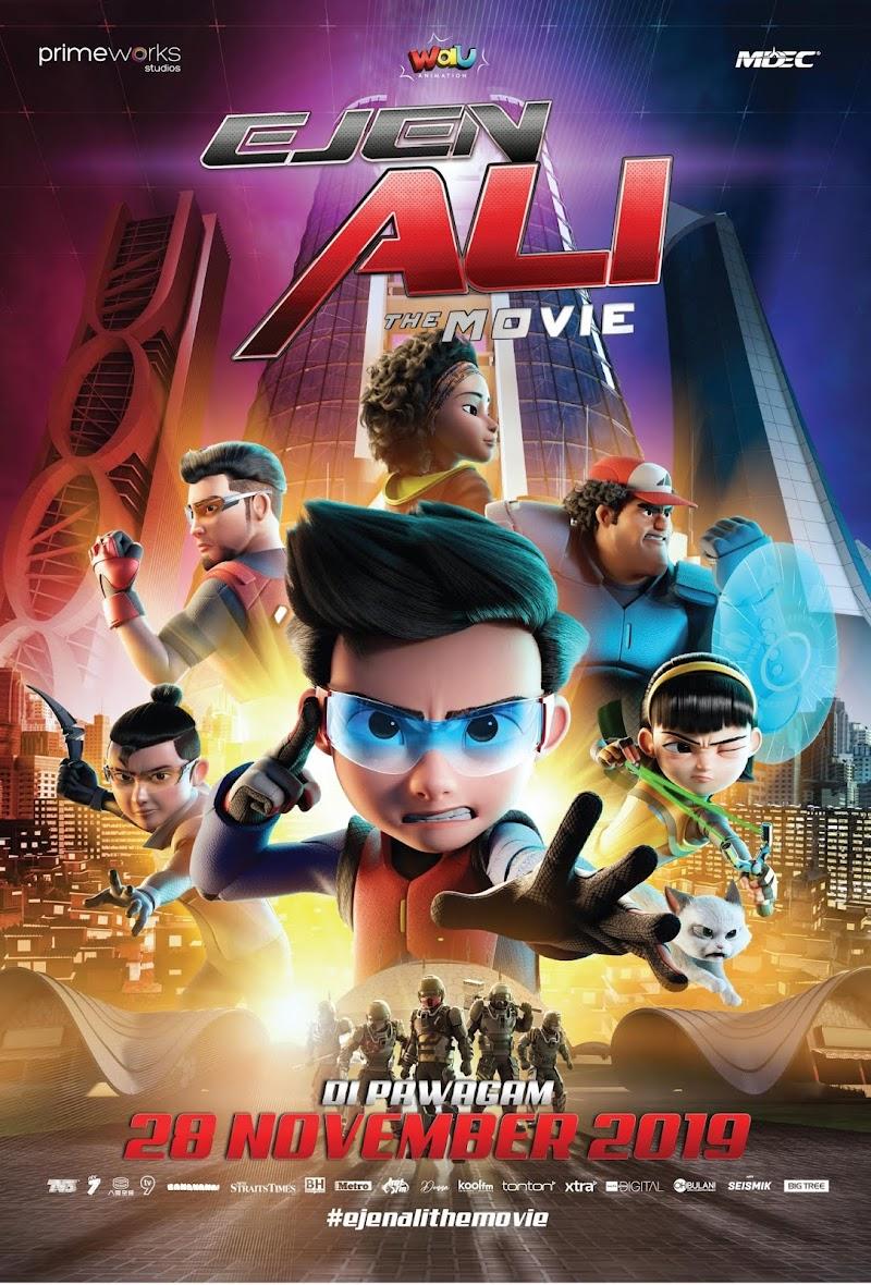 Ejen Ali The Movie Filem Animasi Terbaik 2019