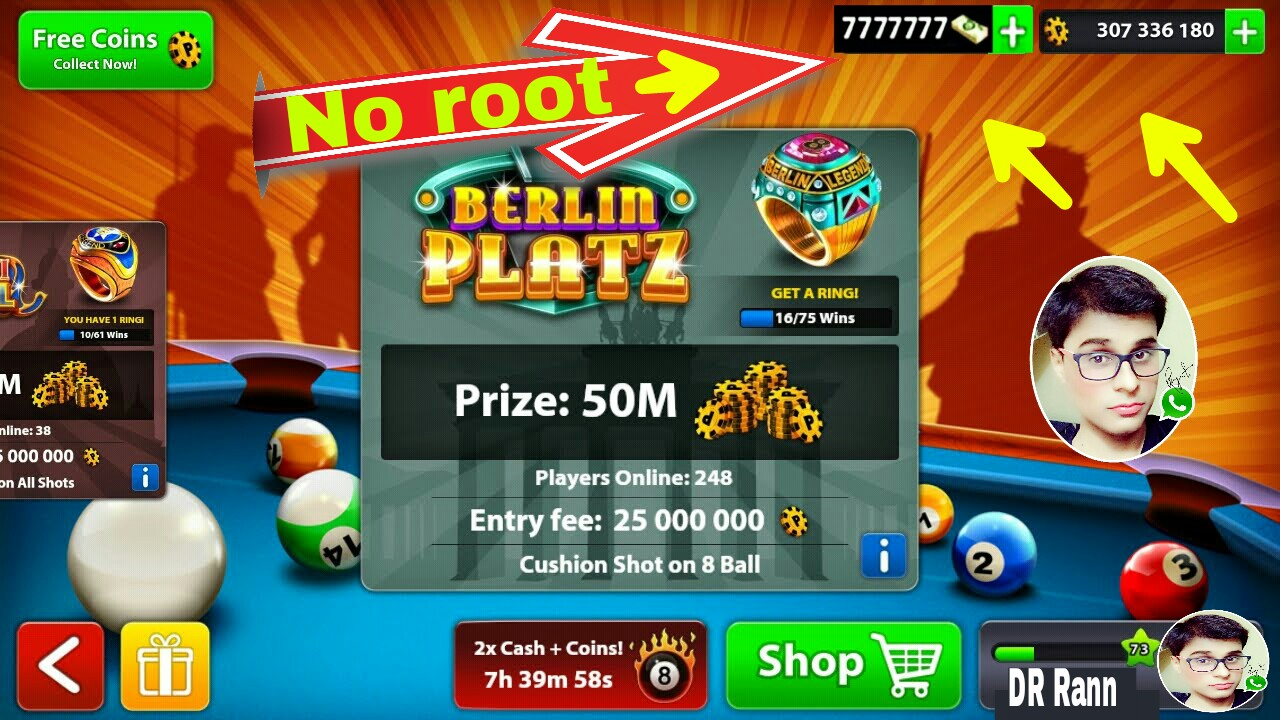 Hack coins 8 ball pool android no root - Etp coin ico houston