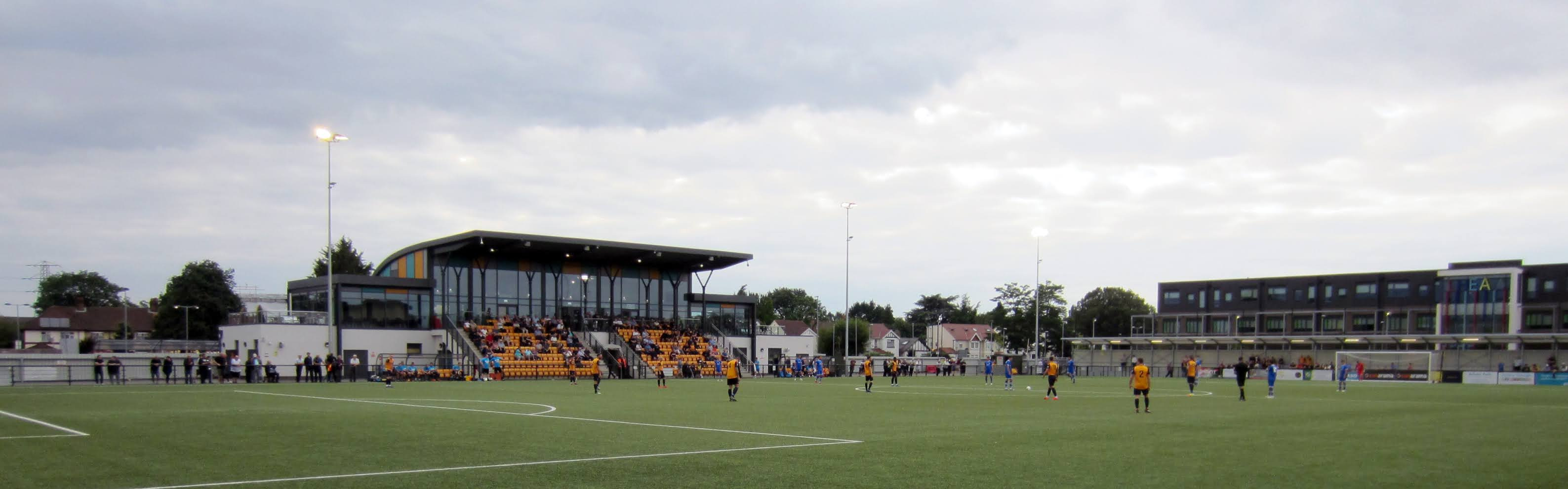 Main stand at Arbour Park, Slough