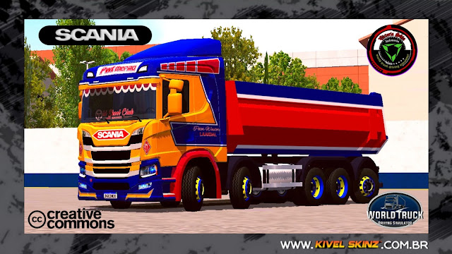 SCANIA P320 CAÇAMBA - PWT THERMO