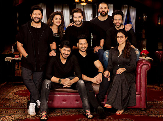 full cast and crew of Bollywood movie Golmaal Again 2017 wiki, Ajay Devgn, Arshad Warsi, Kunal Kemmu, Neil Nitin Mukesh, Golmaal Again story, release date, Golmaal Again Actress, Parineeti, Tabu name poster, trailer, Video, News, Photos, Wallapper