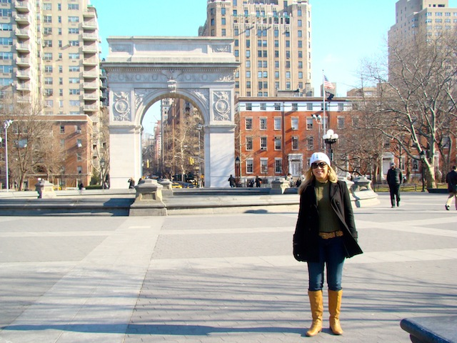 WASHINGTON SQUARE PARK E A RÉPLICA DO ARCO DO TRIUNFO