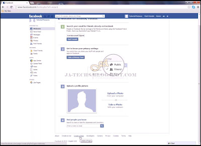 Creating Facebook Fan Page - Step 3