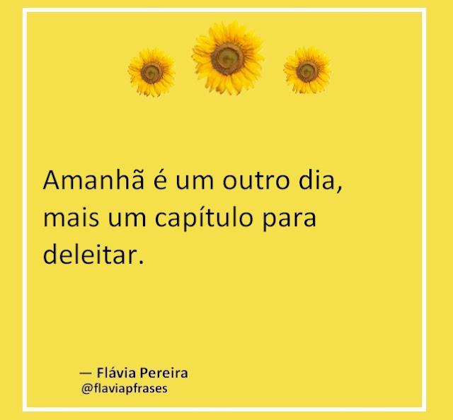 Frases da Flávia Pereira