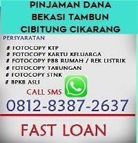 Pinjaman uang jaminan bpkb tambun