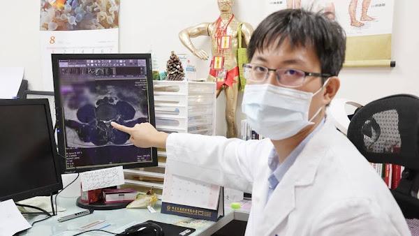 男子椎間盤突出下背痛 員生中醫針灸和傷科手法治療改善