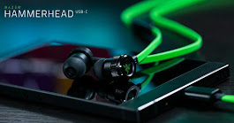 Razer Launch New Hammerhead USB-C Earbuds To Match The Razer Phone