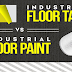 Industrial Floor Tape vs. Industrial Floor Paint #infographic