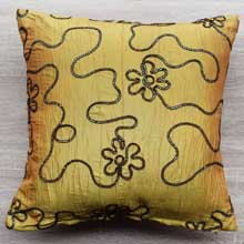 Gold Decorative Throw Pillows, Covers in Port Harcourt Nigeria