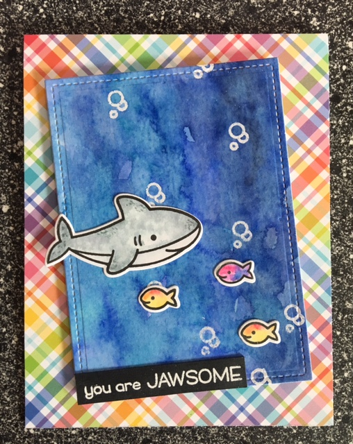 Lawn Fawn stamps you are jawsome