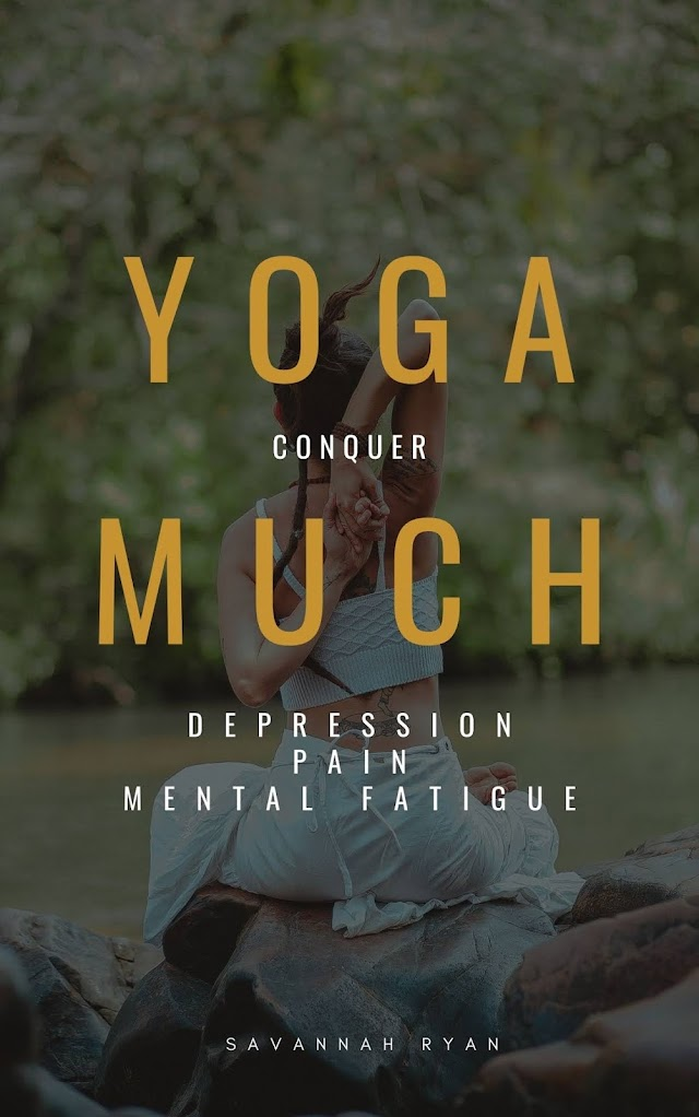 """Yoga Much"" by Savannah Ryan is now on Amazon Books"