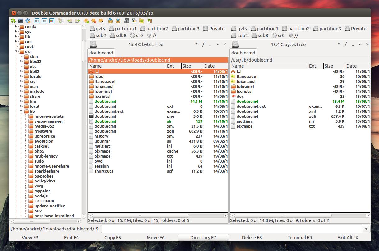 Programiranje: Double Commander created by Lazarus IDE for Free