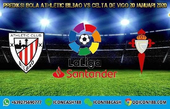 Prediksi Skor Athletic Bilbao vs Celta de Vigo 20 Januari 2020