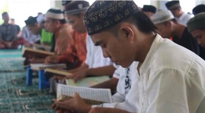 Peringati Tahun Baru Hijriah, Lapas Kelas IIB Gunung Sugih Gelar Tadarus Bagi Warga Binaan