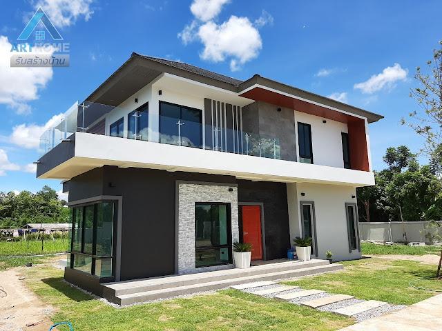 ตัวอย่างบ้านสวยๆสองชั้น