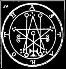 astaroth, sigilo, goetia, ocultismo