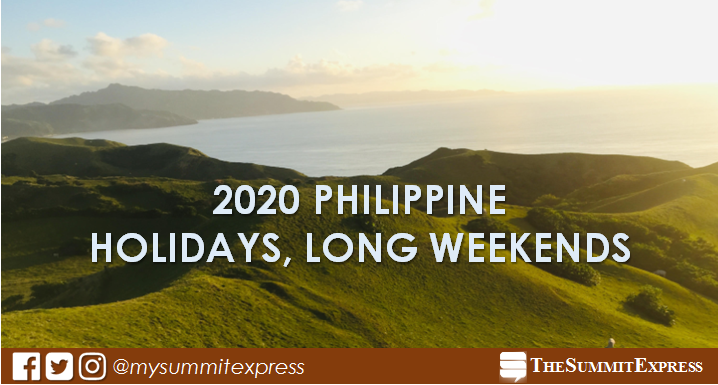 Mark your calendars for 2020 Philippine holidays!