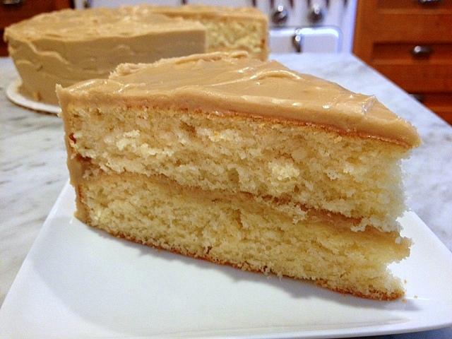 Traditional Caramel Cake