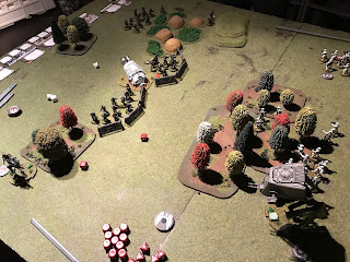 The Rebels hold firm against the Imperial advance.