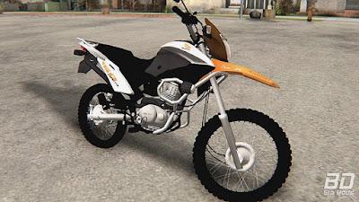 Download mod moto enduro BROS 160 para GTA San Andreas.
