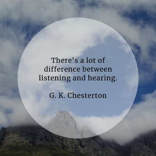 Listening quotes that'll point out its utmost importance